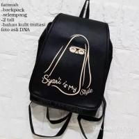 Tas ransel wanita - tas muslimah syar'i