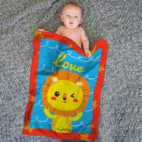 Blanket Baby Internal - LOVE LION