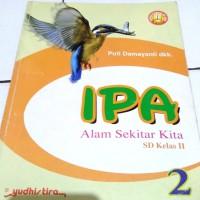 buku pelajaran IPA (alam sekitar kita) SD kelas 2 (Yudhistira)