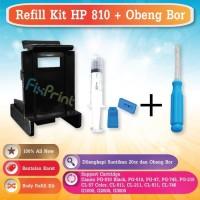Refill Kit PG 810 CL 811 + Obeng Bor Cartridge Canon PG745 CL746