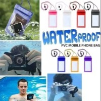 Case pelindung hp anti air / Waterproof Bag Handphone Polos Universal