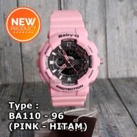 MODEL TERBARU !!! Jam tangan wanita & anak Baby-G Shock BA-110 Pink