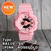 SALE MURAH !!! Baby-G Shock BA-110 Pink Jam tangan digital wanita