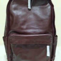tas FOSSIL Buckner men Backpack Leather darkbrown espresso original