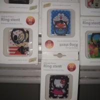 ring stand motif isi 10 - Putih