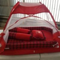 kasur bees kolam bayi plus kelambu