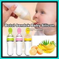 Bottle Feeder - Botol Sendok Baby Silicon BPA Free - Sendok Botol Bayi