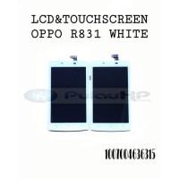 LCD +TOUCHSCREEN OPPO NEO 3/R831 WHITE ORIGINAL OEM 100%