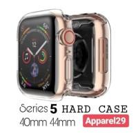 Hard case Series iWatch 5 Apple Watch Casing 40mm 44mm Transparent