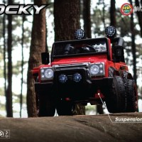 Mainan Mobil Aki Anak Jeep Rocky Voltra 5008