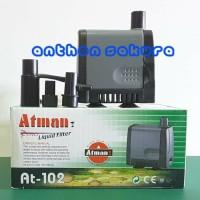 Pompa Air Atman AT-102 AT102 Celup Water Pump Aquarium Hidroponik