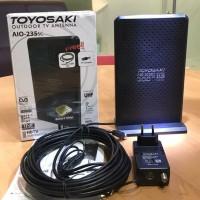 Antena Tv Indoor(Dalam)/Outdoor(Luar) Toyosaki Aio 235 Digital Analog