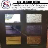 Atap Polycarbonate Solarflat Solid 3mm - Sekar Sion p FTR3