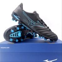 Sepatu Bola Mizuno Morelia Neo II MD Black Blue Atoll P SPTB