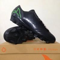 Sepatu Bola OrtusEight Utopia FG Black Fluo Green 11010 SPTB