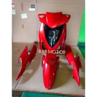 full set cover body halus vario 110 cw karbu merah
