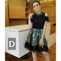 Dress batik/baju kantor/kerja/dres pesta/baju murah/remaja modern/ulta