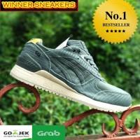 Terbaik Asisc Gel Green Made In Vietnam UA Version BNIB Sneakers Pria