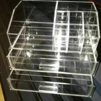 Organizer Arklirik Laci / Tempat Kosmetik Mini / Make Up Acrylic / Box