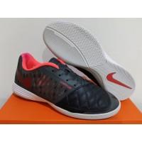 Sepatu Futsal Nike Lunar Gato II Black Red White