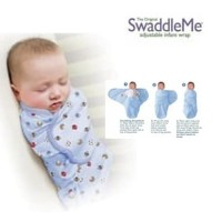 Swaddle Me Bedong Bayi Instan dengan Perekat/Selimut Bayi