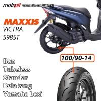 Maxxis VICTRA S98 ST 100/90-14 Ban Standar Lexi Belakang Tubeless