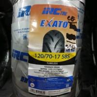 BAN LUAR TUBELESS IRC 120/70-17 EXATO NR88 R-15/MX-KING/ BYSON/R15 VVA
