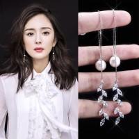 ANTING TASSEL PANJANG BLINK MUTIARA IMPORT KOREA JF1108-SBY