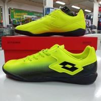 sepatu sapatu futsal lotto loto severe in lime hijau original murah