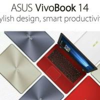 Leptop Asus A442UR intel Core i5 Ram 4gb,Hdd 1tb,vga nvidia 2gb Mantap