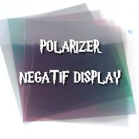 plastik polarizer NEGATIVE LCD - speedometer jam digital dll