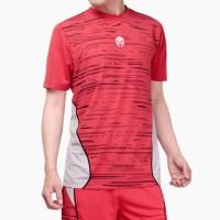 Baju Olahraga Futsal Jersey Bola MILLS, Style: SAMBA, Code : 1009 Red - Red, M