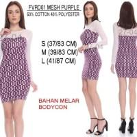 SALE Baju Branded Wanita Dress Merk Forever 21, Purple