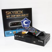 Receiver TV DVBt2 Skybox Antena Set Top Box UHF AV HDMI Digital .