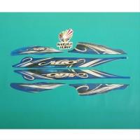 Stiker striping mio sporty 2010 biru