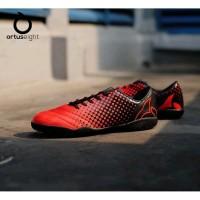 Sepatu Futsal Ortuseight Utopia In Ortred Black Original