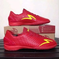 Sepatu futsal specs murah Accelerator exocet IN Dark red original