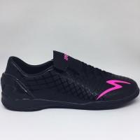 Sepatu futsal specs Accelerator exocet in black beat magenta