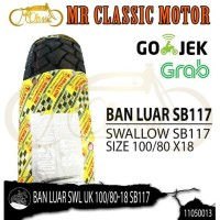 Ban Luar Swallow SB117 100/80 Ring 18 Custom Variasi