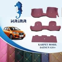 Haima Karpet Mobil Datsun Go+ 2014-2017 Full Bagasi
