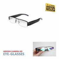 Spy Cam Kacamata Glasses Full Hd 1080p/ Kamera Pengintai/ Spy Camera