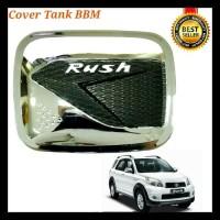 Cover Tank Bensin -Penutup Axsesoris tank Mobil-penutup Crome