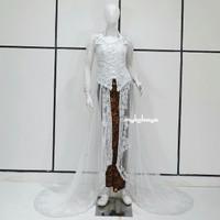 BEST SELLER Kebaya Pengantin Cantik Murah Baju Pengantin Akad Modern