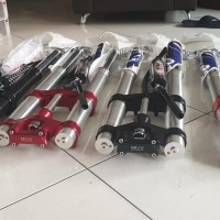 usd/shock depan real jump mgv klx crf150l include stang dan disc cover