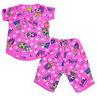 Setelan Baby Kitty Size 0-12 Bulan / Baju Anak Perempuan Bayi Murah - 0-12 Bulan, Kuning