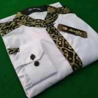 Baju Koko Hilwa Kombinasi Batik Prada