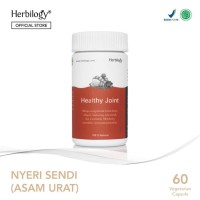 Herbilogy Healthy Joint - Asam urat & Nyeri Sendi 60 kapsul