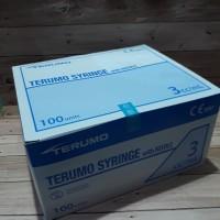 Spuit syringe with needle 3 cc / ml terumo