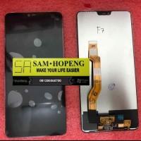 Oppo F7 LCD + Kaca Touchscreen Fullset