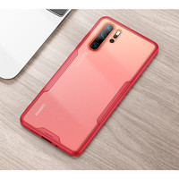 MSVII Huawei P20 P20 PRO / P30 P30 PRO - Frosted Armor Ultra Slim Case - Merah, P30